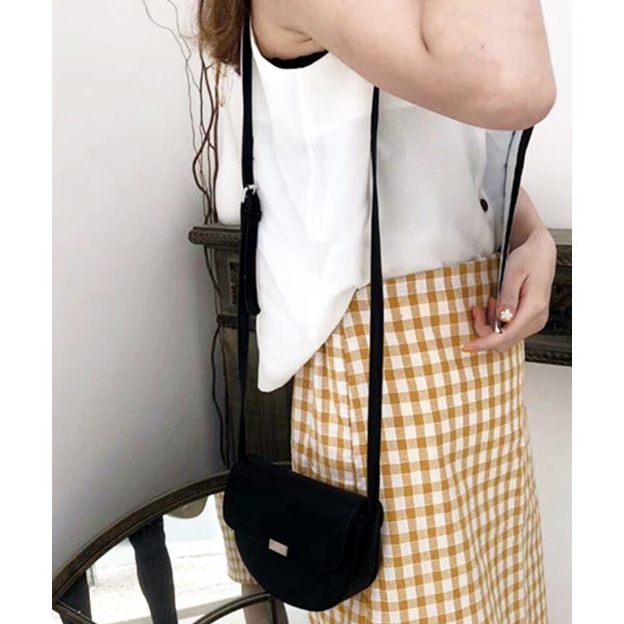 秋新作 ハーフラウンドバッグ バッグ 鞄 ショルダー ハーフラウンド レザー調 シンプル パイソン レディース 韓国ファッション 21