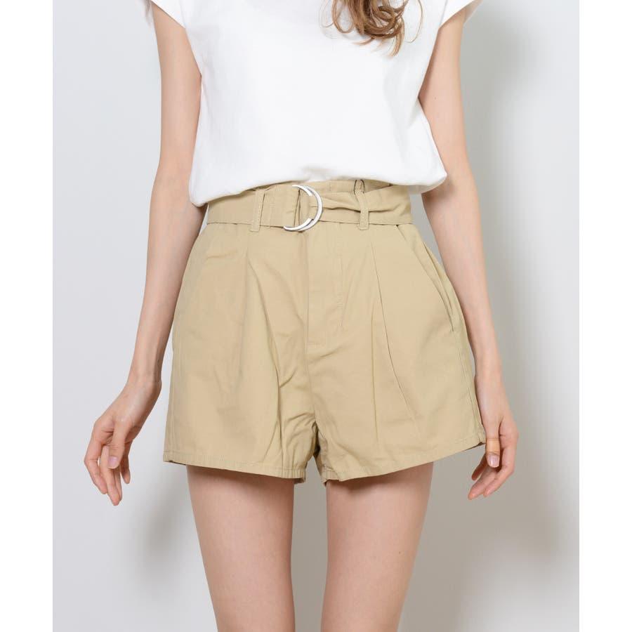 秋新作 ツイルショートパンツ シンプル ツイル型 ショートパンツ トレンド レディース 韓国ファッション 流行 8
