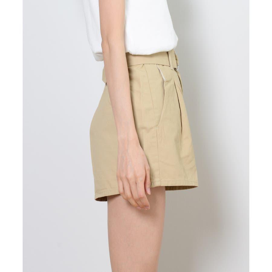 秋新作 ツイルショートパンツ シンプル ツイル型 ショートパンツ トレンド レディース 韓国ファッション 流行 9
