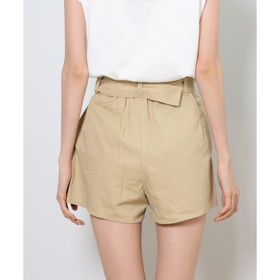 秋新作 ツイルショートパンツ シンプル ツイル型 ショートパンツ トレンド レディース 韓国ファッション 流行 10