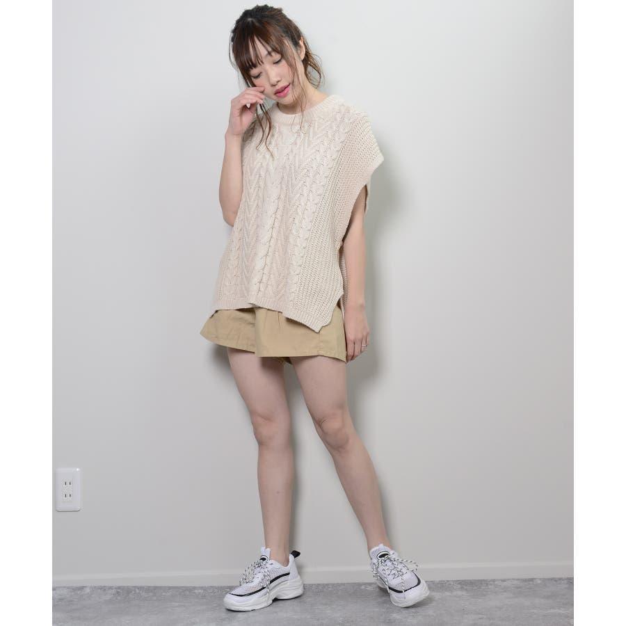 秋新作 ツイルショートパンツ シンプル ツイル型 ショートパンツ トレンド レディース 韓国ファッション 流行 4
