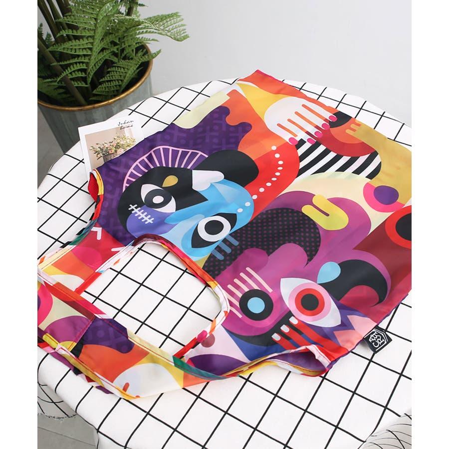 秋新作 折たたみエコバッグ ma シンプル 折りたたみ エコバッグ エコ コンパクト レジ袋 トレンド レディース 韓国ファッション流行 7