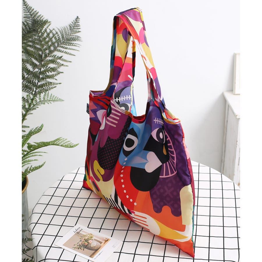 秋新作 折たたみエコバッグ ma シンプル 折りたたみ エコバッグ エコ コンパクト レジ袋 トレンド レディース 韓国ファッション流行 8
