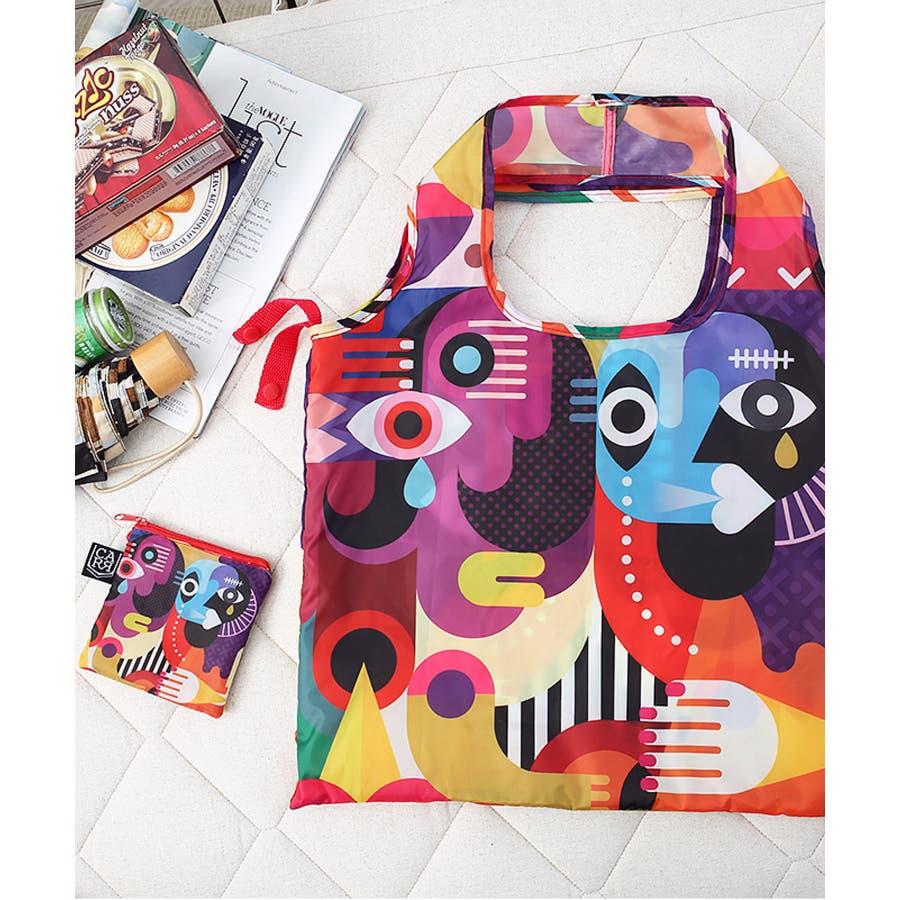 秋新作 折たたみエコバッグ ma シンプル 折りたたみ エコバッグ エコ コンパクト レジ袋 トレンド レディース 韓国ファッション流行 9