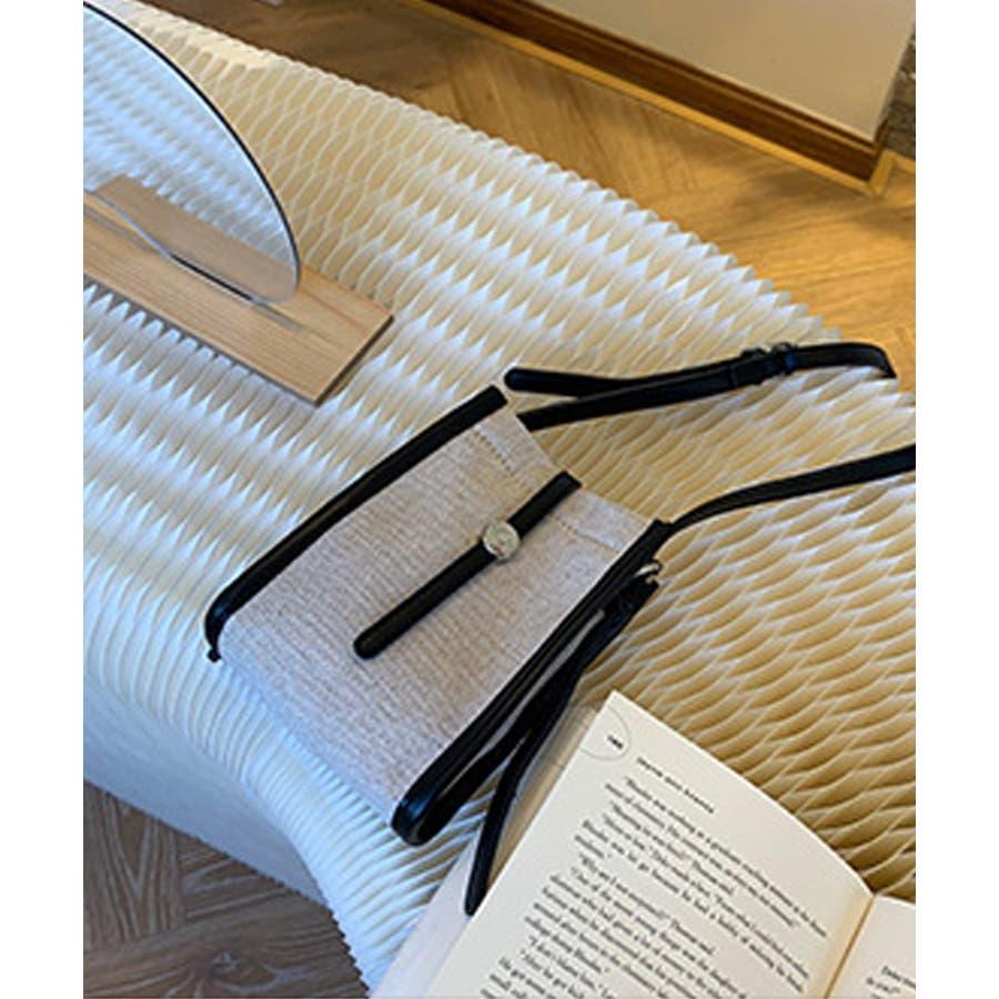 秋新作 ショルダーバッグ 鞄 ショルダー バッグ ミニバッグ シンプル キャンバス レザー調 カジュアル トレンド レディース韓国ファッション 流行 21