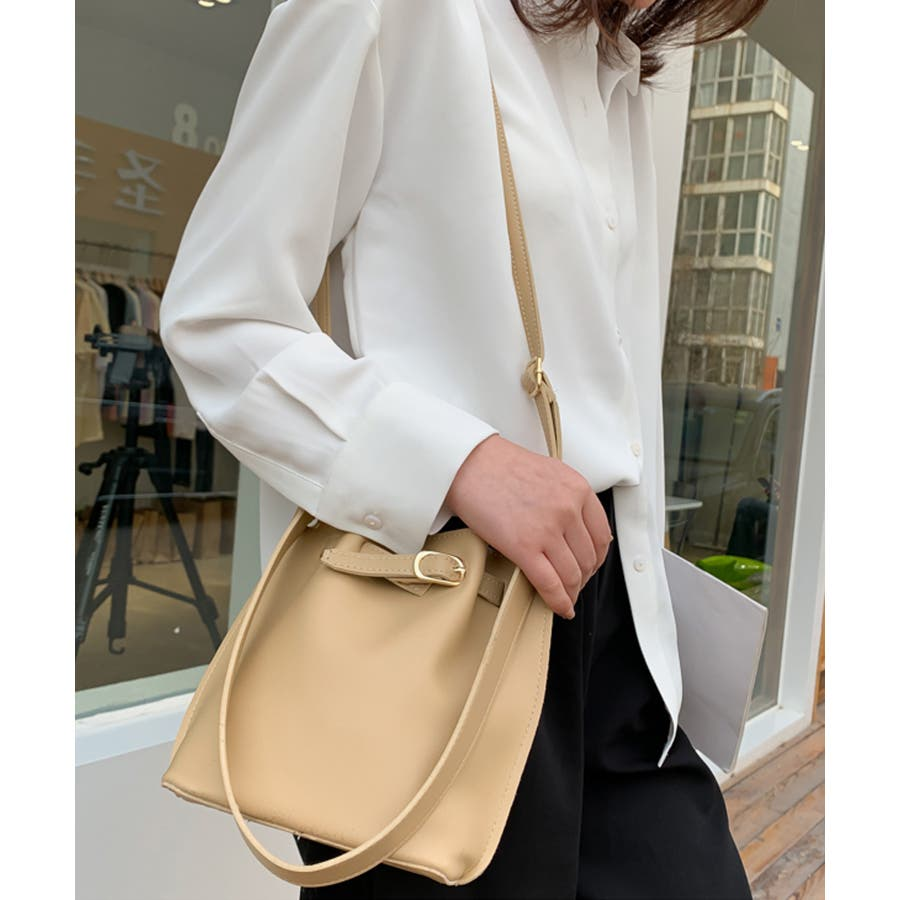 秋新作 ベルト2wayバッグ ショルダー ハンド 2way バッグ 鞄 ベルト ナチュラル 上品 トレンド 韓国ファッションレディース 3