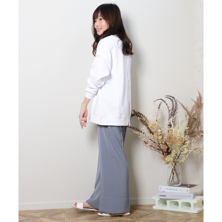 秋新作 スラックパンツ シンプル スラック パンツ トレンド レディース 韓国ファッション 流行 59