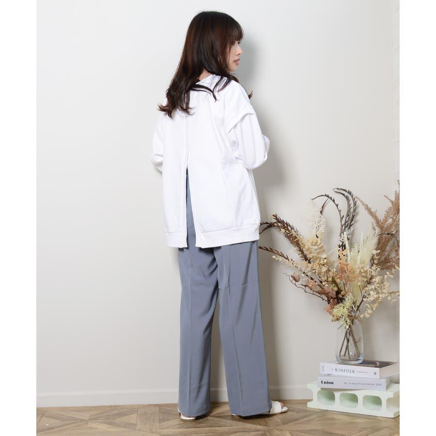 秋新作 スラックパンツ シンプル スラック パンツ トレンド レディース 韓国ファッション 流行 99