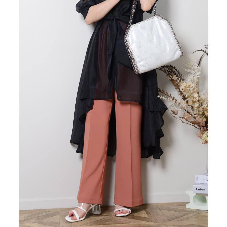秋新作 スラックパンツ シンプル スラック パンツ トレンド レディース 韓国ファッション 流行 6