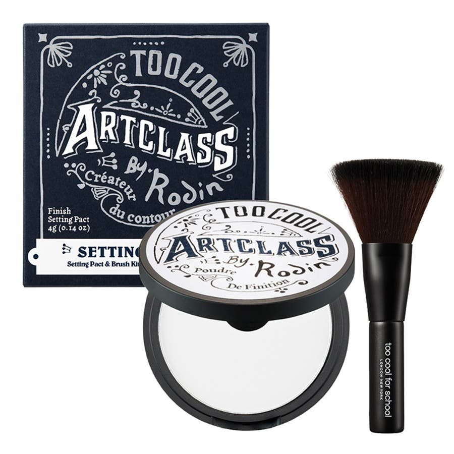 【too cool for school トゥークールフォースクール】ART CRASS BY RODIN FINISHSETTING PACT アートクラスバイロダンフィニッシュセッティングパクト 5