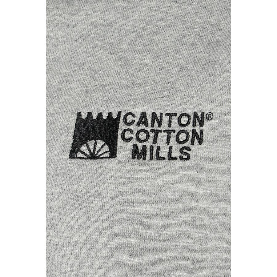 CANTON COTTON MILLS ワンポイントパーカー 7