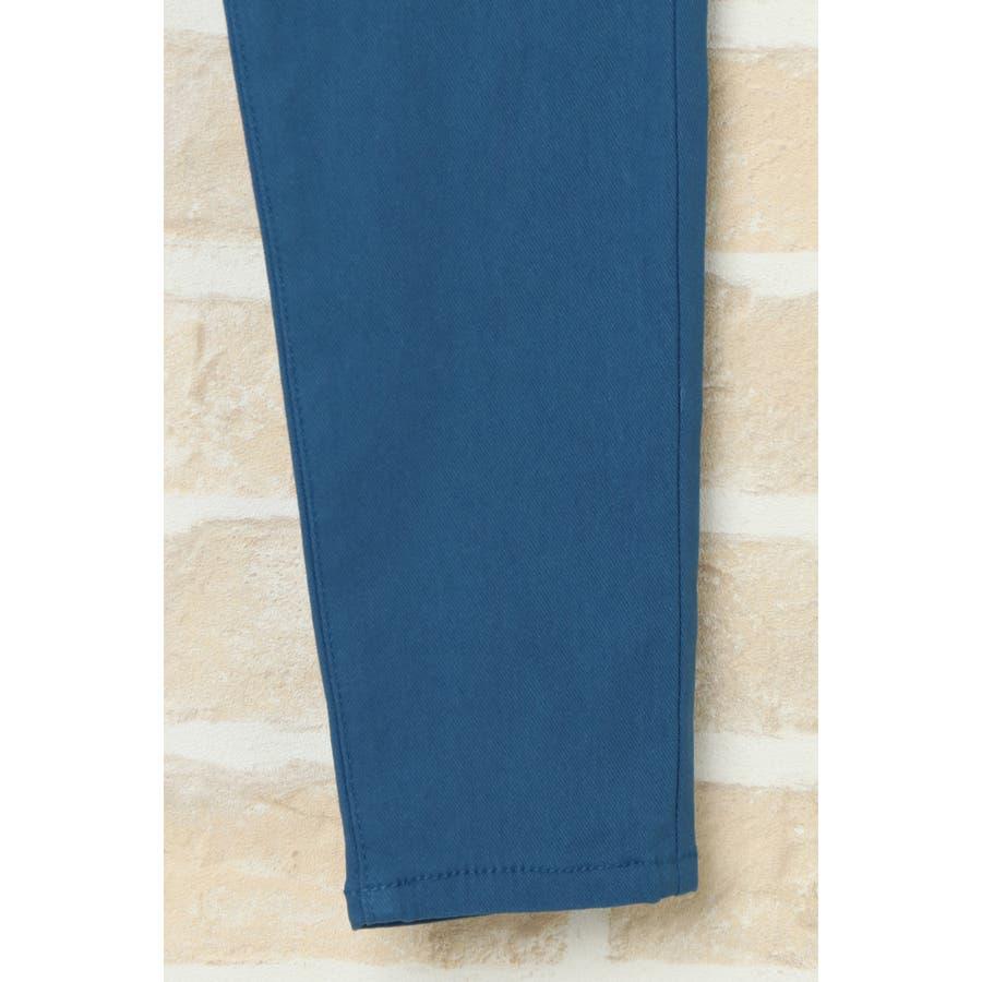 【キッズ】ドリストウエストリブパンツ(120~160cm) 6