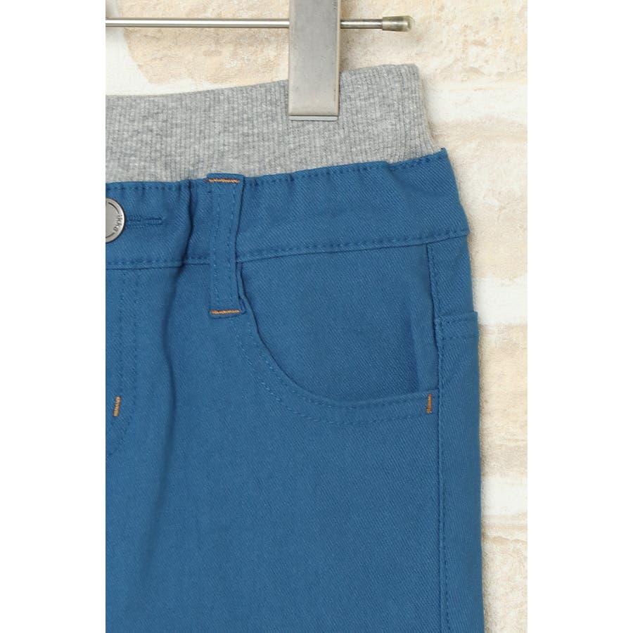 【キッズ】ドリストウエストリブパンツ(120~160cm) 4