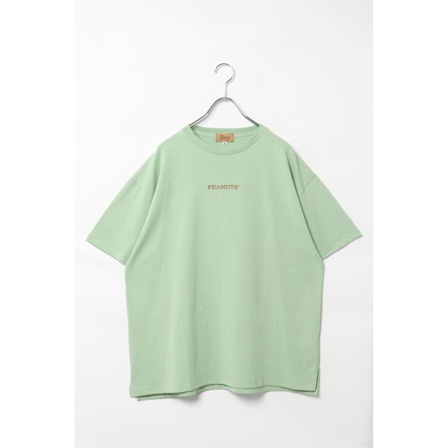 SNOOPY プリントビッグTシャツ 50