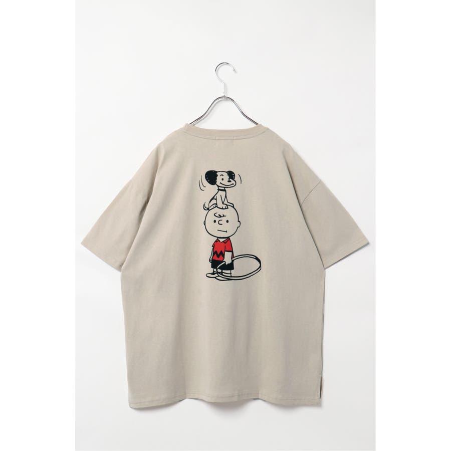 SNOOPY プリントビッグTシャツ 2
