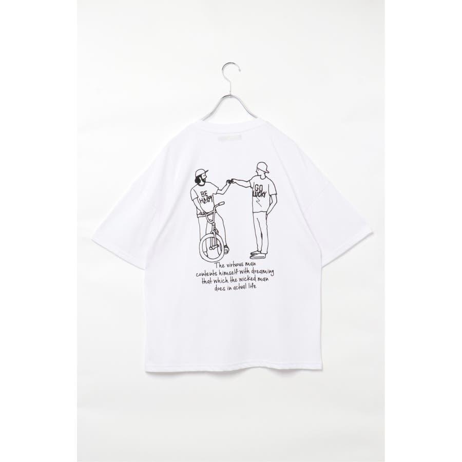 イラストプリントTシャツ 2