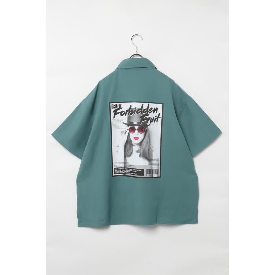グラフィックビッグシャツ 2
