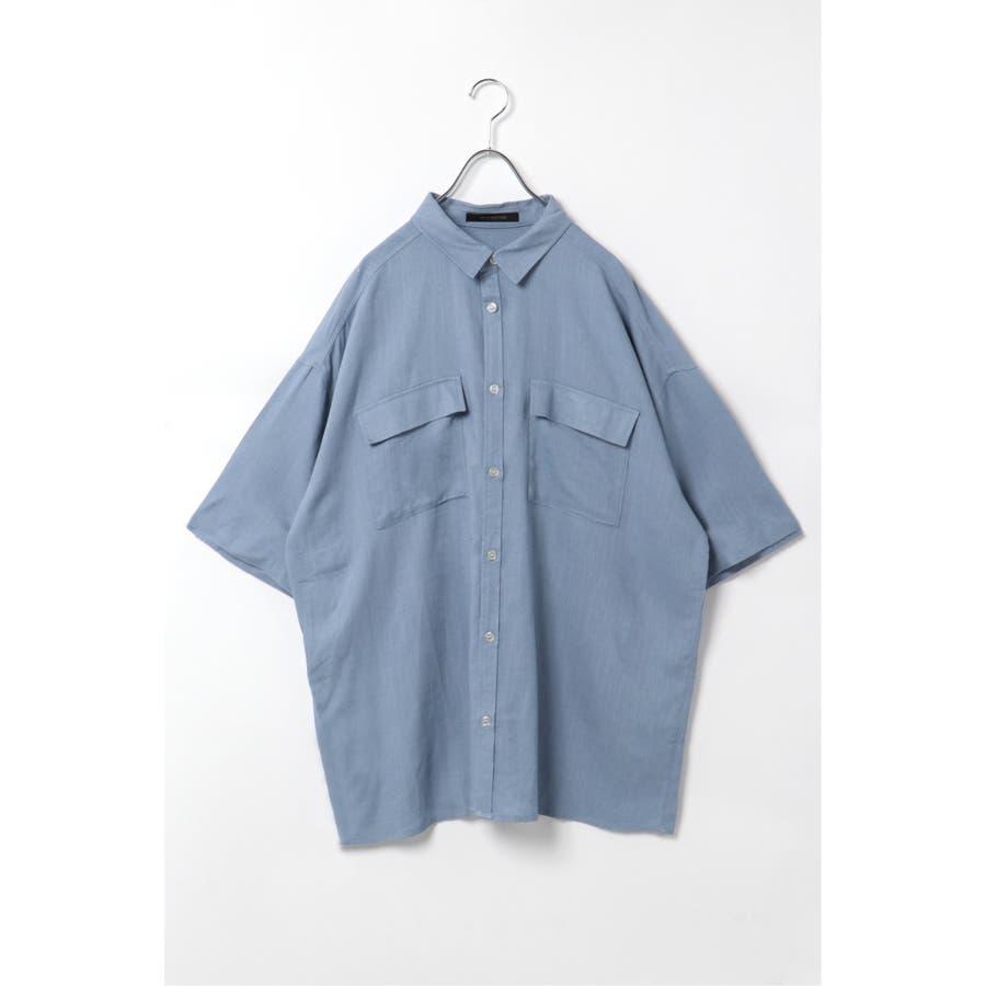 R/Lフラップポケットシャツ 76