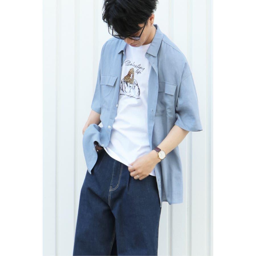 R/Lフラップポケットシャツ 1