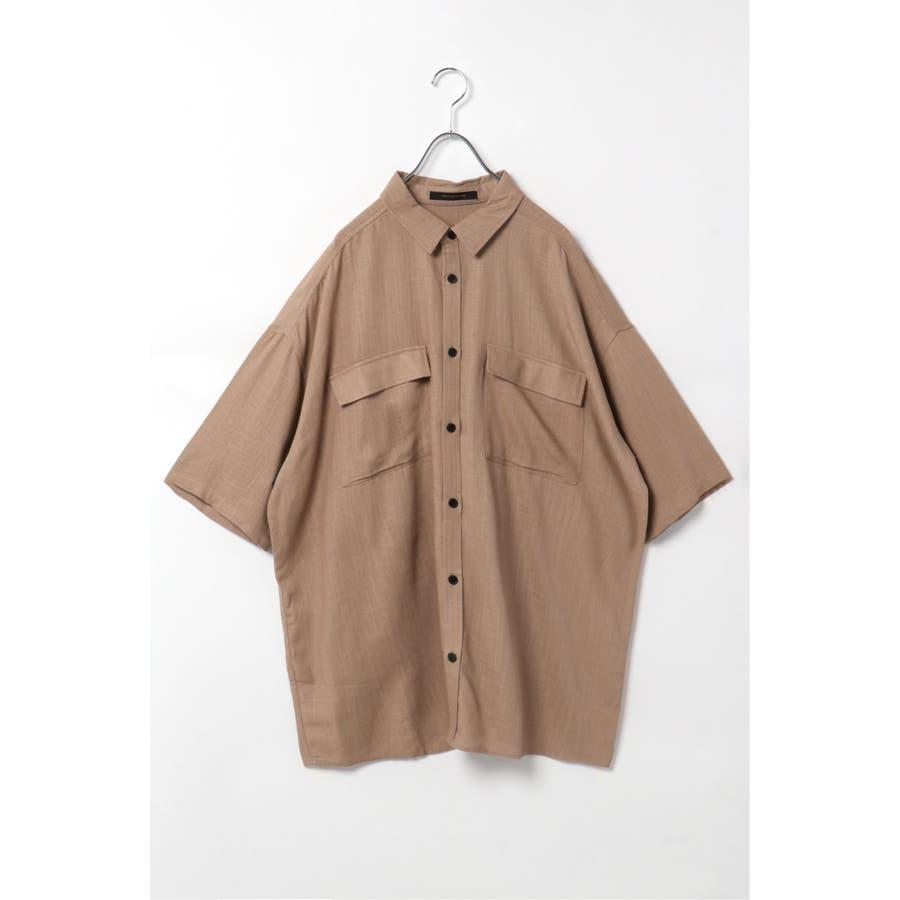 R/Lフラップポケットシャツ 40