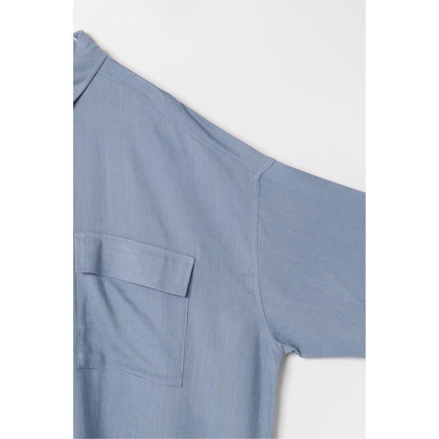 R/Lフラップポケットシャツ 7