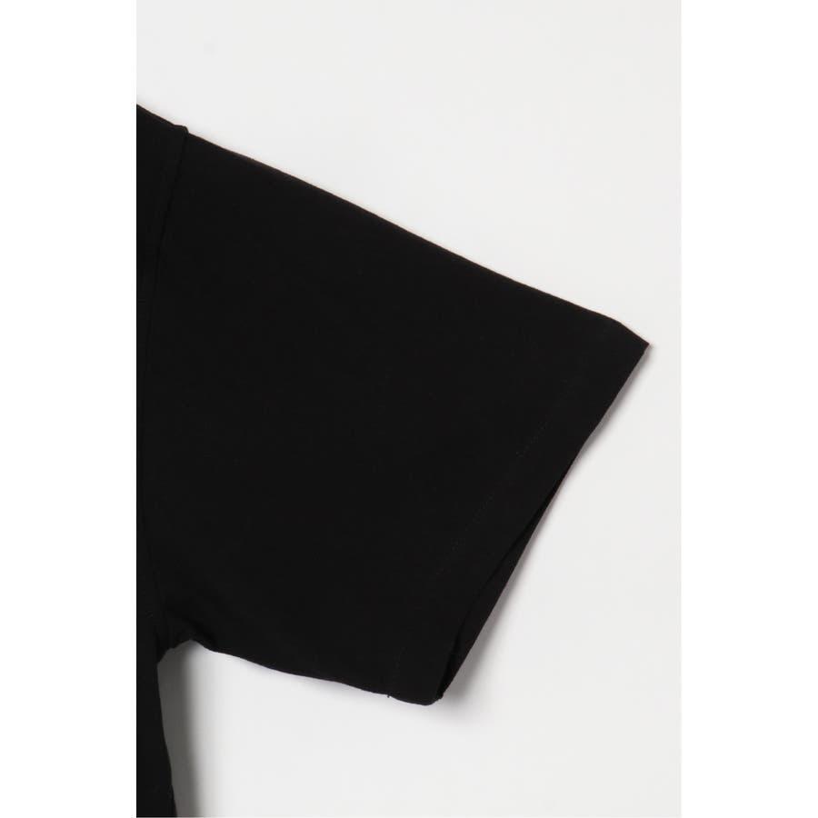 VISION サークルロゴ刺繍開襟シャツ 7