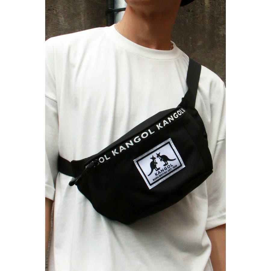 【別注】KANGOL ファスナーポケットファニー 21