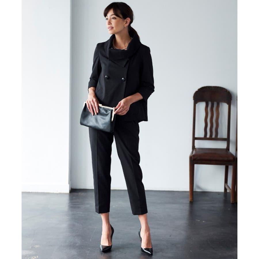 【Marisol×モデルRINA】パンツスーツ レディース パンツ スーツ 大きいサイズ 結婚式 入学