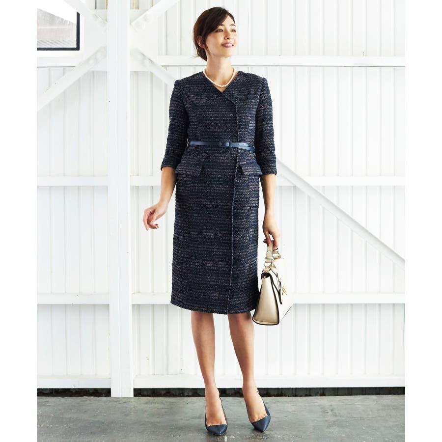 f9387f8356962  RINA×スカートスーツ スーツ レディース ワンピース ママ 入学式 入園式 卒業式