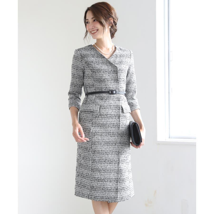 3dea0a225b13b  RINA×スカートスーツ スーツ レディース ワンピース ママ 入学式 入園式 卒業式