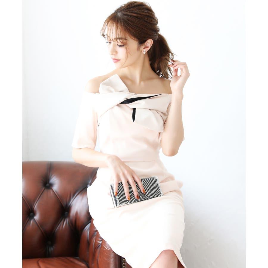 3c49bd94e5f80  伊藤ニーナ☆特集 パーティードレス 結婚式 ワンピース ドレス 大きいサイズ パーティー 二次会