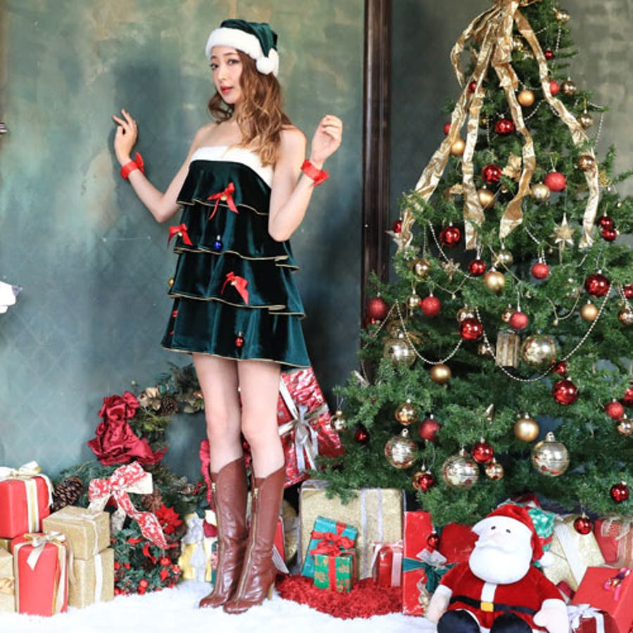 クリスマス ツリー コスプレ 大きい サイズ