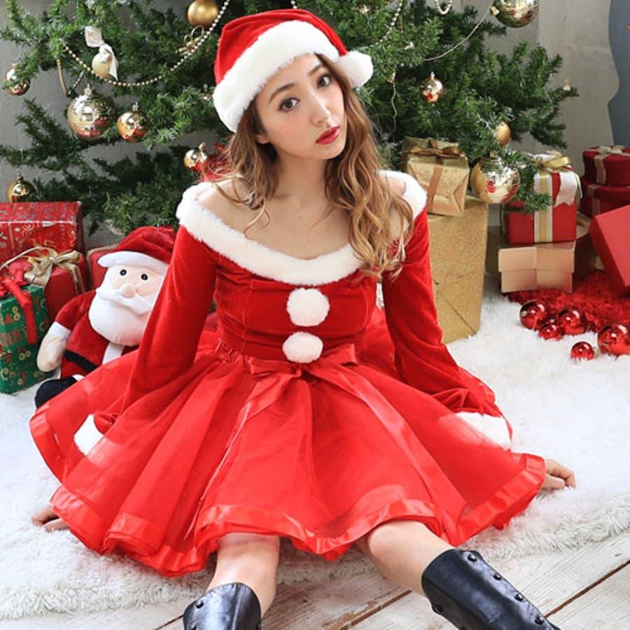 06e743460264f サンタコスプレ長袖サンタコスクリスマスコスチューム大きいサイズ衣装セクシーサンタクロースパーティサンタコスプレクリスマスコスプレ