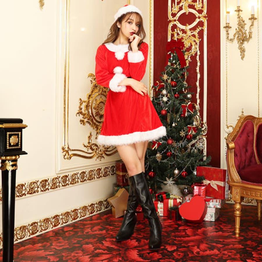 43ba8b396fc9a  サンタケープポンチョコートマント サンタコスプレ長袖サンタコスクリスマスコスチュームサンタクロース大きいサイズ