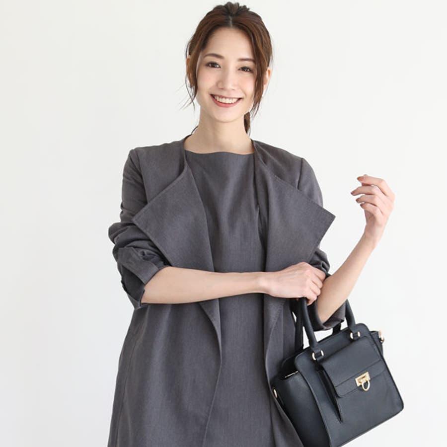 6f12345e609b0 高垣麗子×おしゃれスーツ スーツ ワンピース レディース フォーマル ...