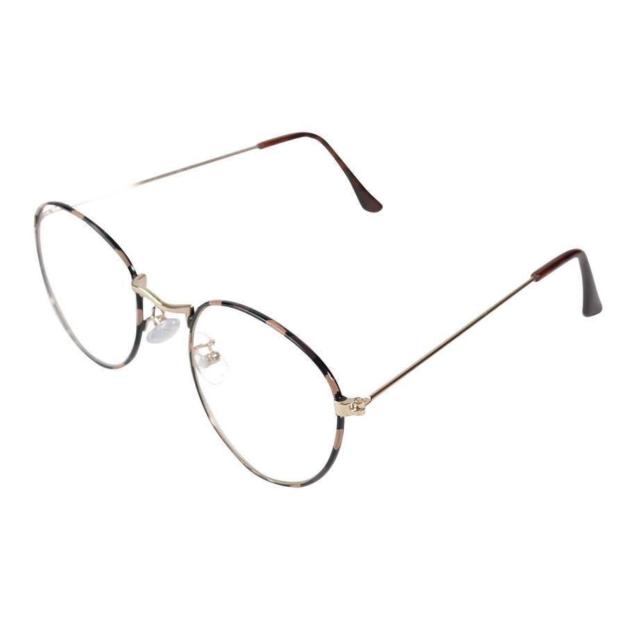 ゆう】丸めがね 丸眼鏡 丸メガネ おしゃれ 眼鏡 メガネ めがね 伊達 ...