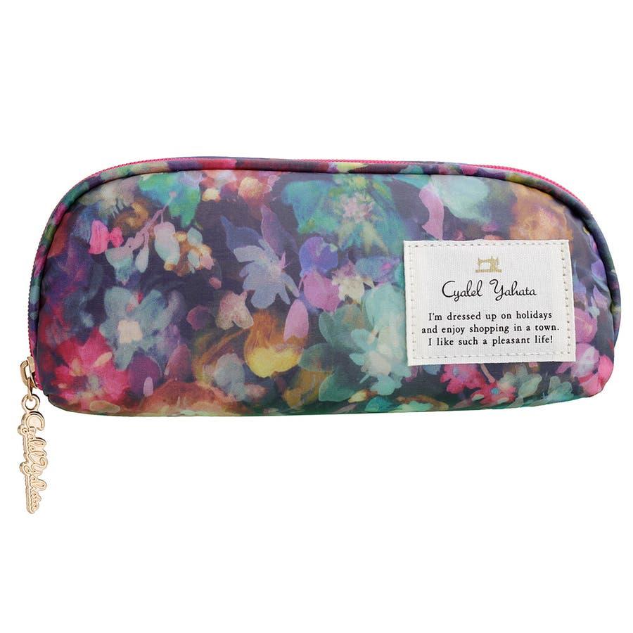 メガネケース チャーミングビオラ / メガネケース 眼鏡ケース サングラスケース レディース かわいい 花柄おしゃれソフトケースギフト プレゼント 2