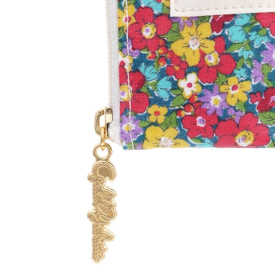 スナップフラワー ティッシュポーチ / ポケットティッシュケース ティッシュポーチ カバー レディース かわいい 花柄 おしゃれギフト プレゼント お祝い トラベルポーチ 5