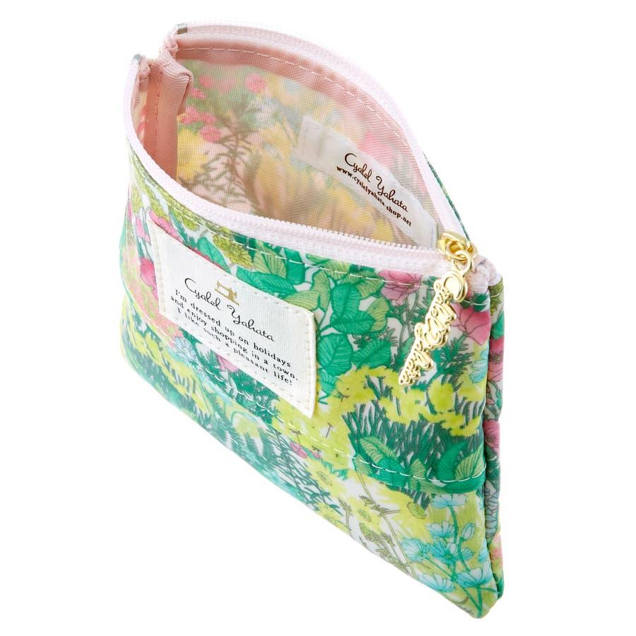 フレッシュガーデン ティッシュポーチ / ポケットティッシュケース ティッシュポーチ カバー レディース かわいい 花柄おしゃれギフト プレゼント 3