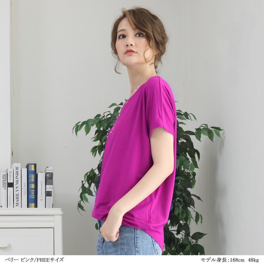 Tシャツ カットソー レディース 5
