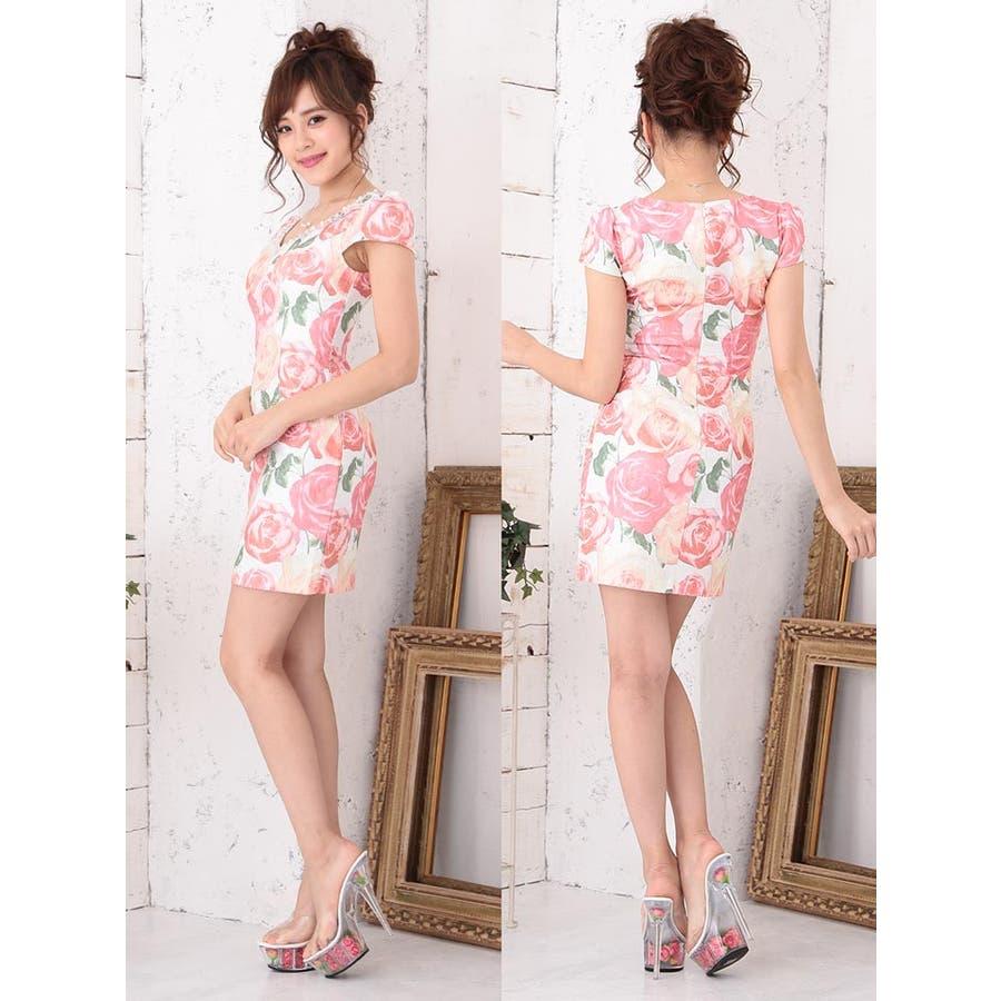 735b6fa093a95 ドレス キャバ ミニドレス☆ Jasmine  S Mサイズ ビジュー amp パール付 ...