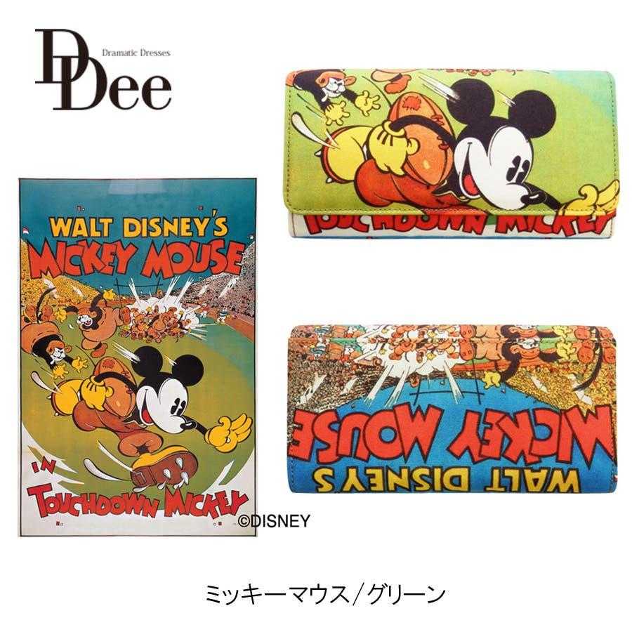 ディズニー/ポスターアートロングウォレット 財布 長財布 ウォレット