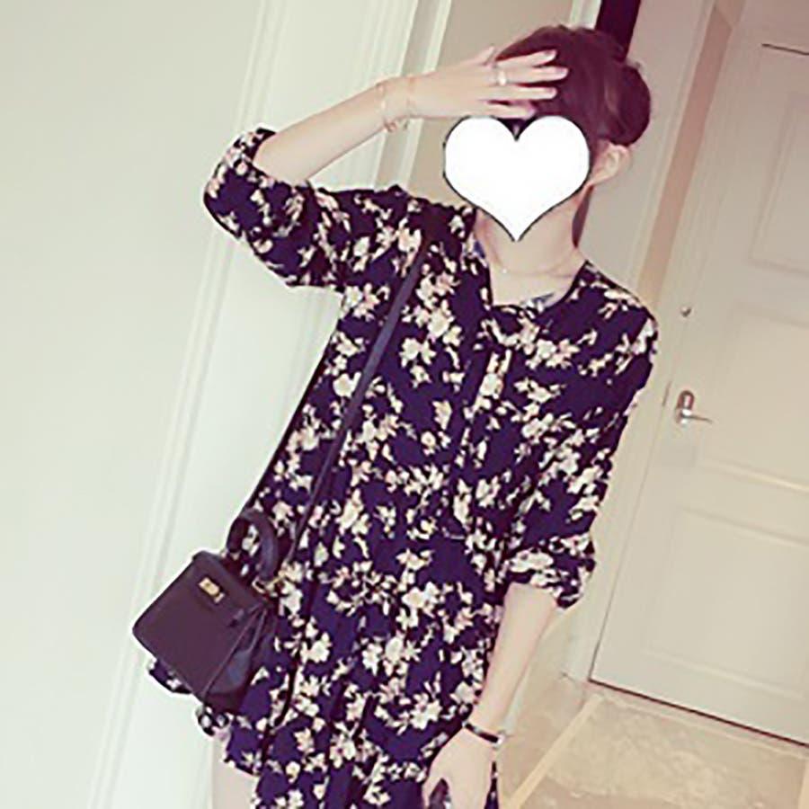 トレンドファッション♪花柄ワンピース☆2016秋冬新作 4