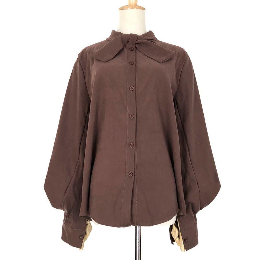 リボンデザインシャツ 春夏新作 韓国ファッション 6