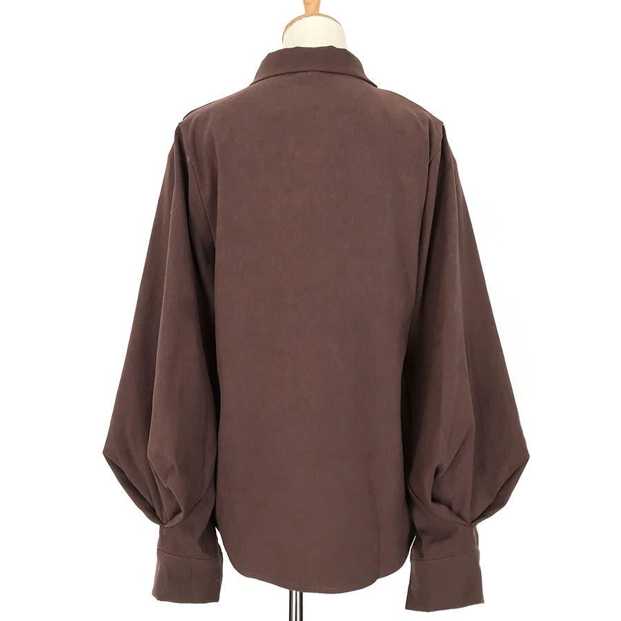 リボンデザインシャツ 春夏新作 韓国ファッション 8