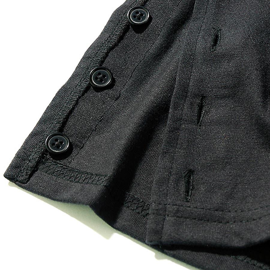 [SHISKY ポケット付き裾スリットボタンビッグ半袖ワンピース] シスキー ベビー キッズ ジュニア 子供服 女の子 ダンスM1-3 9