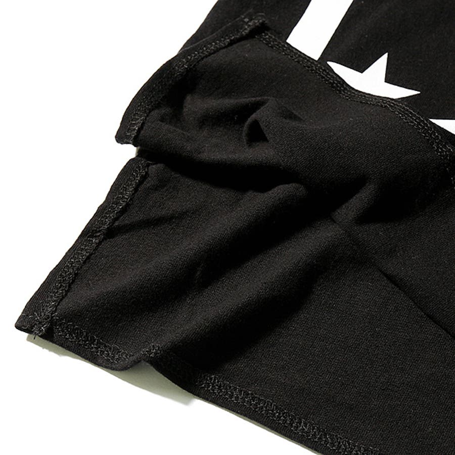 [SHISKY ペイズリー柄裾切替ロング丈半袖Tシャツ カットソー] シスキー ストリート ベビー キッズ ジュニア 子供服 男の子女の子 ダンス M1-4 8