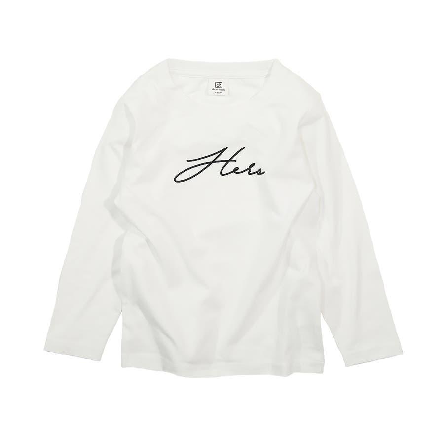 デビラボ プリント長袖Tシャツ 子供服 16