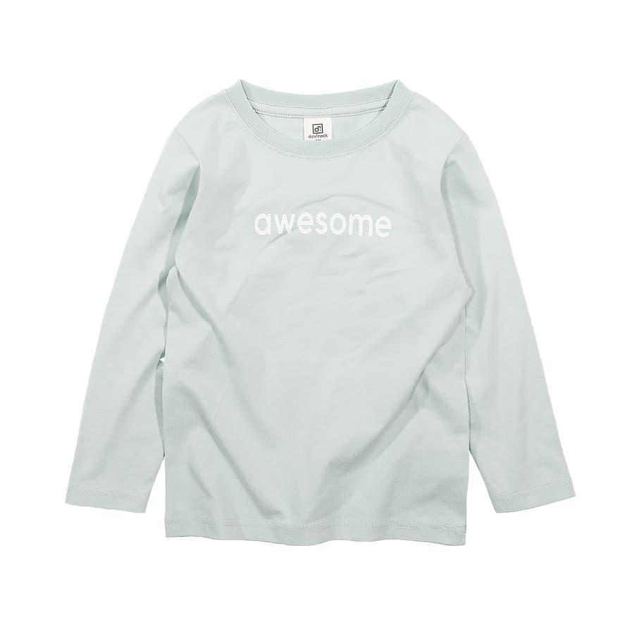 デビラボ プリント長袖Tシャツ 子供服 28