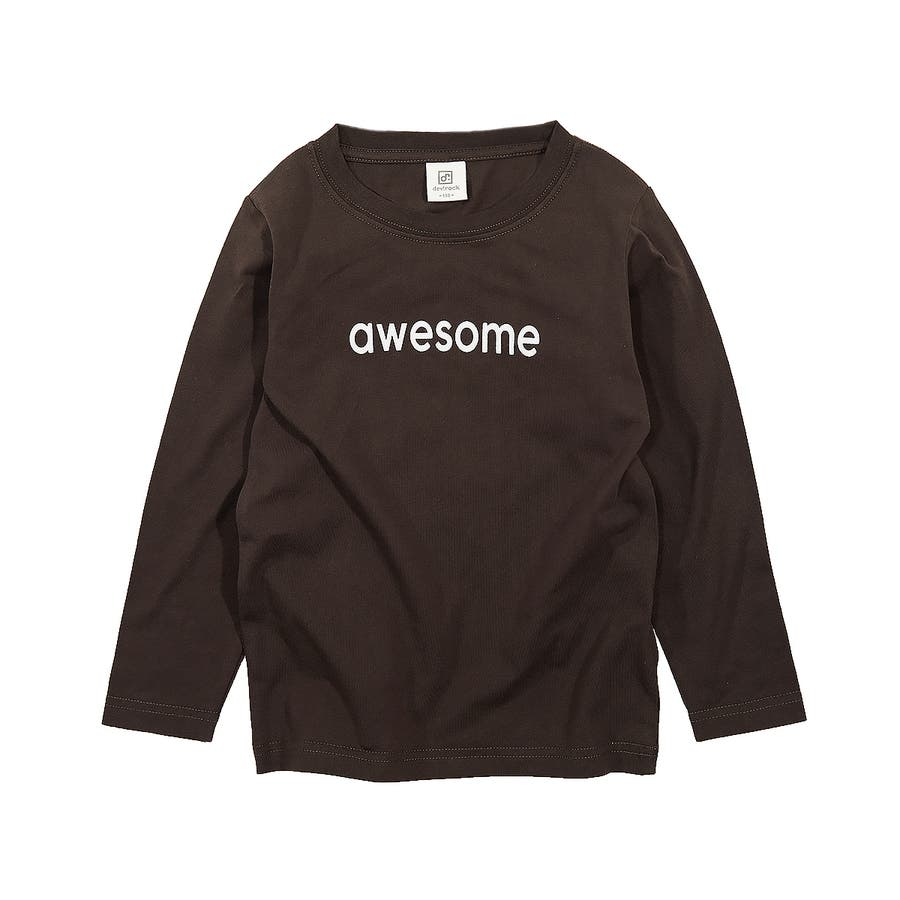 デビラボ プリント長袖Tシャツ 子供服 31